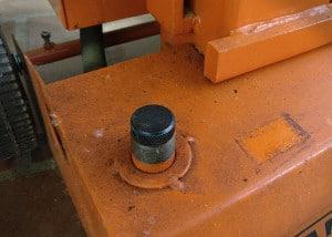 Holzspalter Atika ASP 8N - Öltank