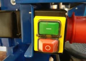 Holzspalter Scheppach HL1200 - Schalter