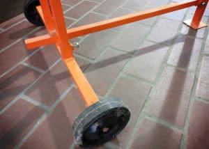 Atika ASP5N Holzspalter - Räder