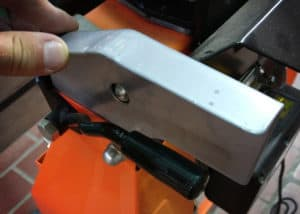 Atika ASP5N Holzspalter - Verarbeitung