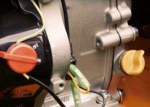 Holzspalter Benzin Atika11n - Motor