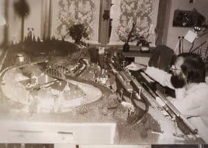Wie alles begann...mit der Eisenbahnplatte legte mein Vater einen Grundstein für Hobby und Leidenschaft.